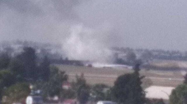 Adana Havaalanı'nda yangın: Tüm uçuşlar iptal edildi
