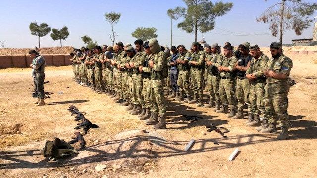 Suriye Milli Ordusu terörle mücadele kapsamında 151 şehit verdi