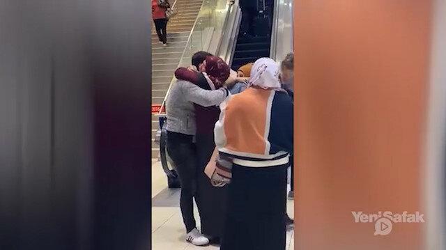 Suriyeli anneyle oğlunun 3 yıl sonra kavuşma anı