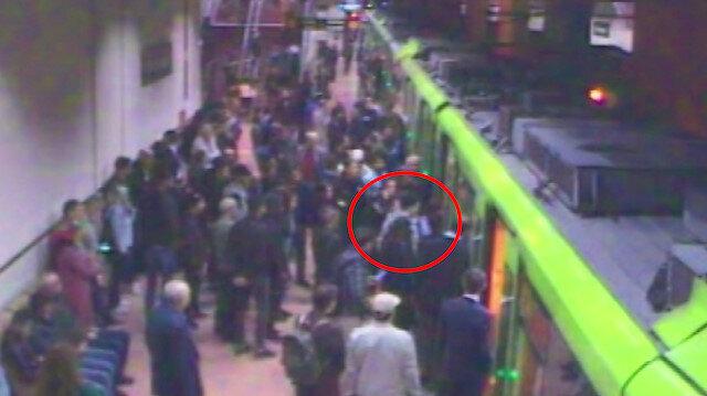 Bursa metrosu hayat kurtarmak için durdu