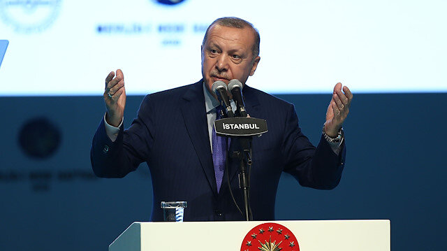 Cumhurbaşkanı Erdoğan: Ona hürmeten ordumuza Peygamber Ocağı yiğitlere Mehmetçik deriz