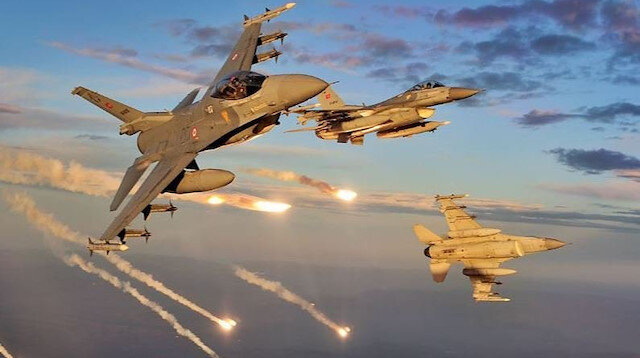 Irak kuzeyindeki Metina bölgesinde 4 terörist etkisiz hale getirildi