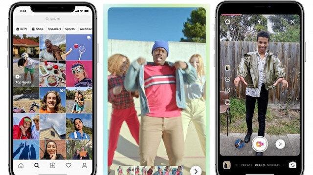 Instagram, TikTok'a rakip olacak Reels özelliğini duyurdu