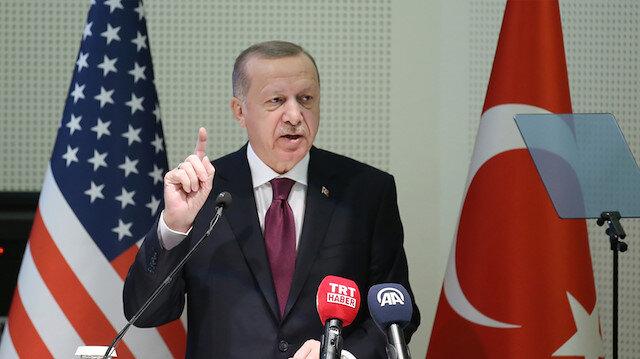 Cumhurbaşkanı Erdoğan: Baş veririz ama asla baş eğmeyiz