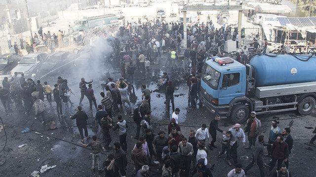 Suriye'deki terör saldırısında 18 sivil hayatını kaybetti