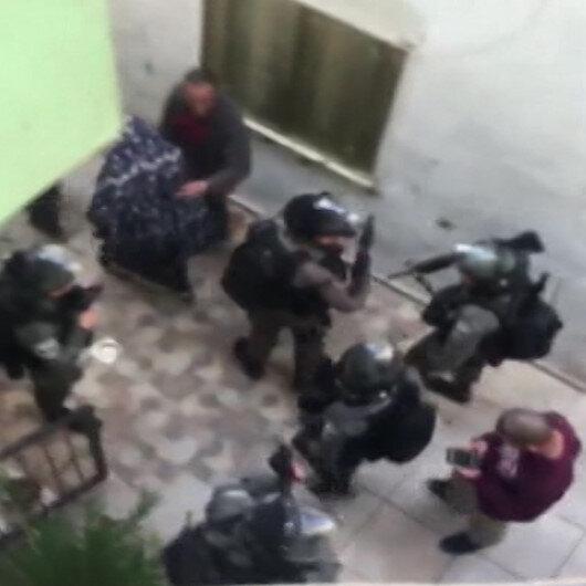 İşgalci İsrail askerleri, Kudüs Valisi Gaysı ve 8 Filistinli sivili gözaltına aldı