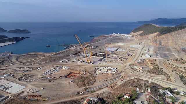 Enerji ve Tabii Kaynaklar Bakanı Dönmez: Akkuyu Nükleer Santrali 2023'de faaliyete geçecek
