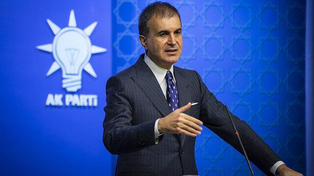 AK Parti Sözcüsü Çelik: CHP bu kumpas siyaseti yüzünden hesap vermeli