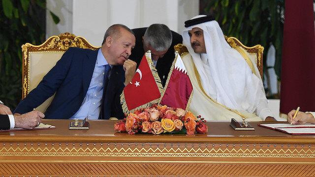 Türkiye-Katar Yüksek Stratejik Komite 5. Toplantısı'nda Türkiye ile Katar arasında 7 anlaşma imzalandı