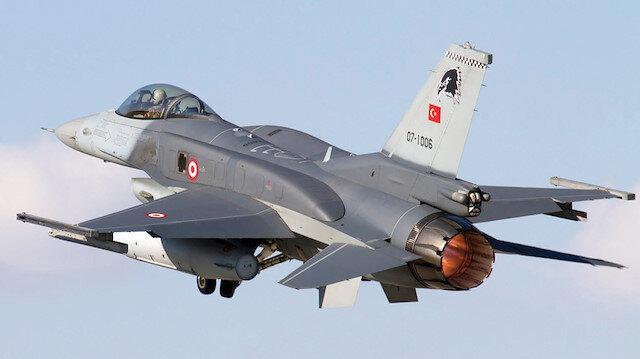 F-16'lar S-400 testi için havalandı