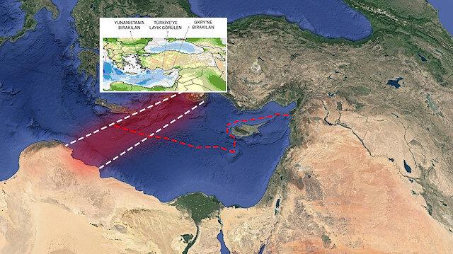 Türkiye ile Libya'nın tarihi anlaşması Sevilla Haritasını çöpe attı