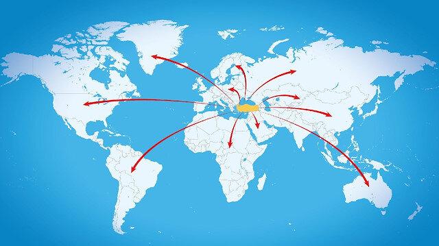 50 ülkenin verileri açıklandı: İhracatta dünya 7'ncisiyiz