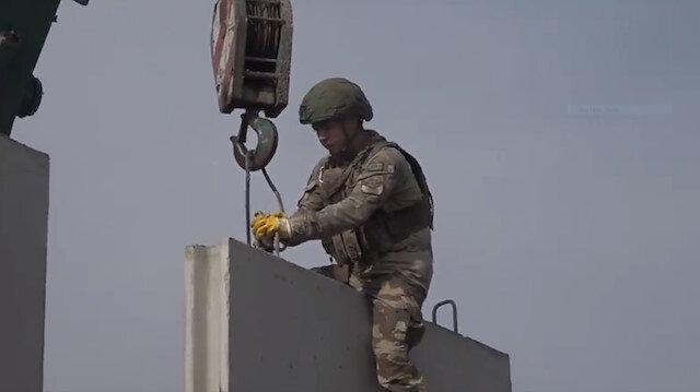MSB: Terör saldırılarına karşı yol kontrol noktaları inşa ediliyor