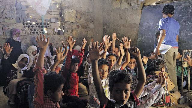 27 fotoğrafla savaş bölgesinde çocuk olmak