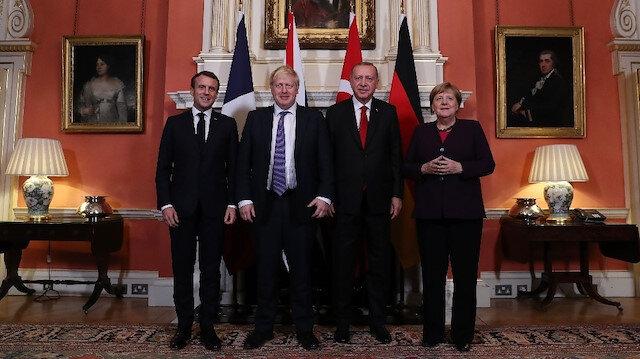 Dörtlü Zirve sona erdi: Erdoğan, Macron, Merkel ve Johnson ile bir araya geldi
