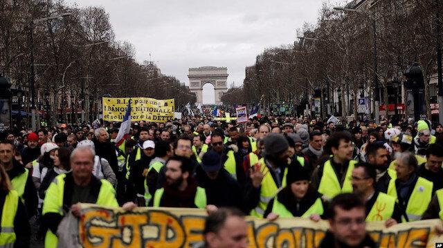 Macron'un en zor günü! Fransa'da hayat haftalarca duracak