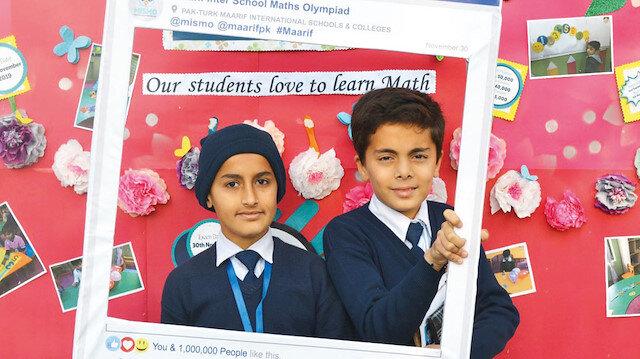 Maarif'ten Pakistan'da matematik olimpiyatı