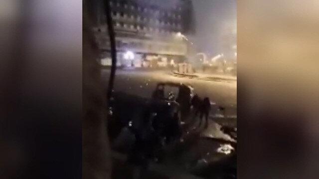 Bağdat'ta maskeli kişiler, göstericilere ateş açtı: 16 ölü, 45 yaralı