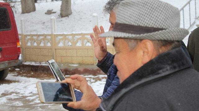 Köyde kurulan kamera sistemi ile gurbetçiler hasret gideriyor: Hırsızlık olaylarını da azalttı