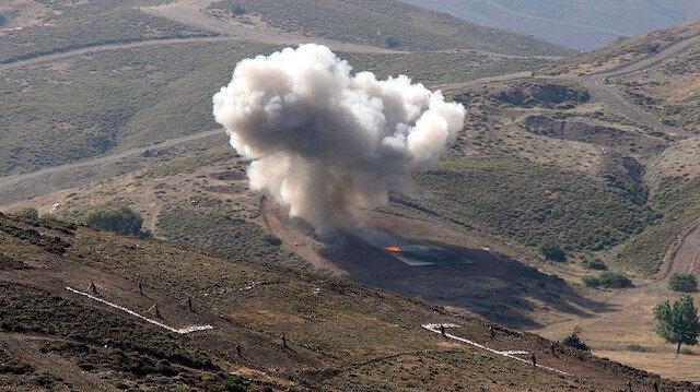 Şırnak'ta PKK'lı teröristlerin tuzakladığı EYP infilak etti: 2 şehit, 7 yaralı