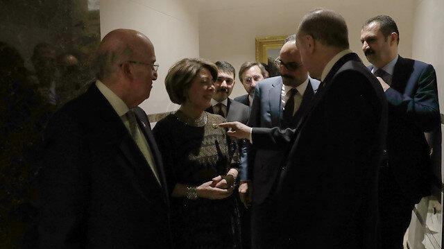 Abdülhamit'in torunu Külliye'de: Osmanoğlu'nun yakasındaki rozet Erdoğan'ın dikkatini çekti