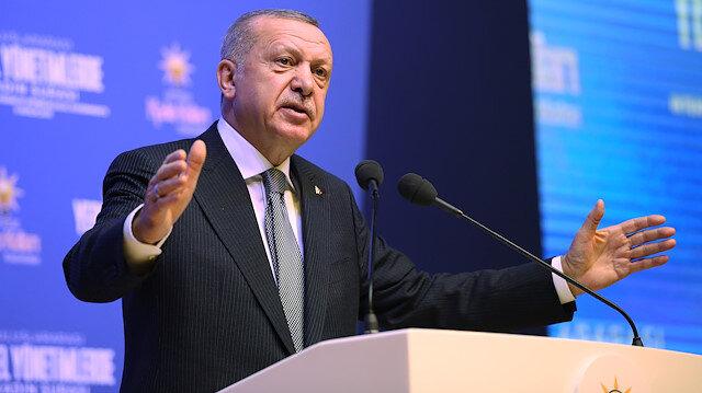 Cumhurbaşkanı Erdoğan: Evlatları için nöbet tutan annelerin fendi, teröristleri yenmiştir