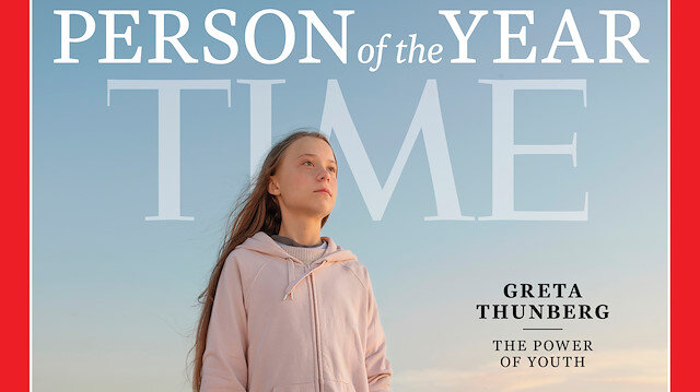 TIME Dergisi 'Yılın İnsanı': İklim aktivisti Greta Thunberg