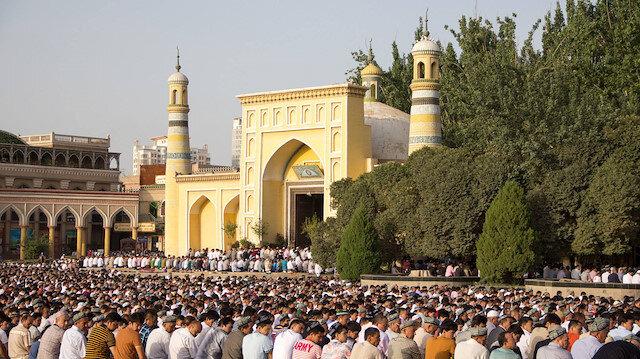 Kaşgarın tarihi camisinin son hali içler acısı