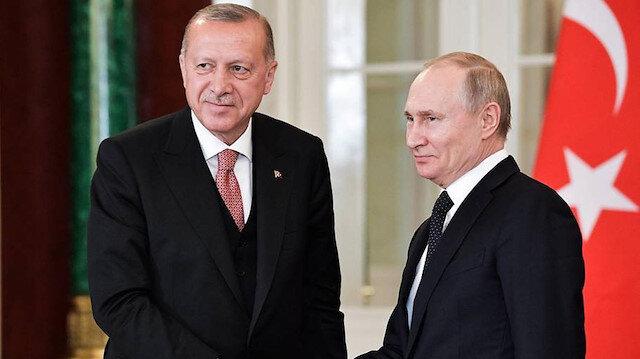 Cumhurbaşkanı Erdoğan ile Rusya lideri Putin telefonda görüştü