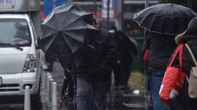 Meteorolojiden yarın için bazı illere kar ve sağanak uyarısı yapıldı