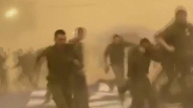 Şiddetli rüzgar İsrail askeri üssünü birbirine kattı
