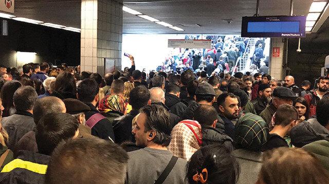 İstanbul'da gün içinde 5 saatlik aksama gerçekleşen metro seferleri normale döndü