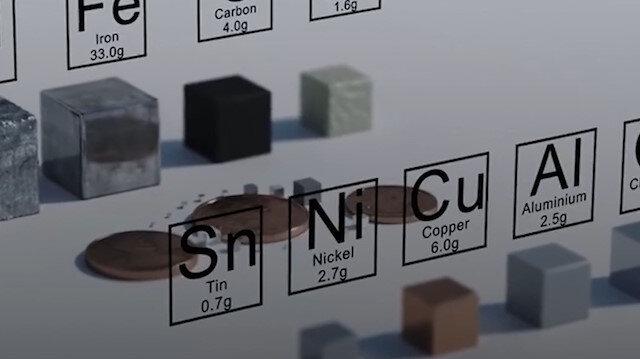 Bilim adamları iPhone malzemelerinin elementlerini paylaştı