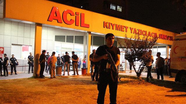 Alışveriş merkezinde kanlı kavga: 1 ölü, 2 yaralı
