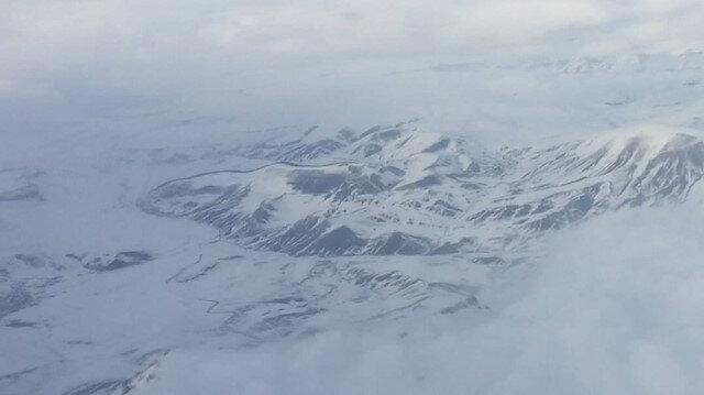 2 bin metreden çekilen Allahuekber Dağları kendine hayran bıraktı