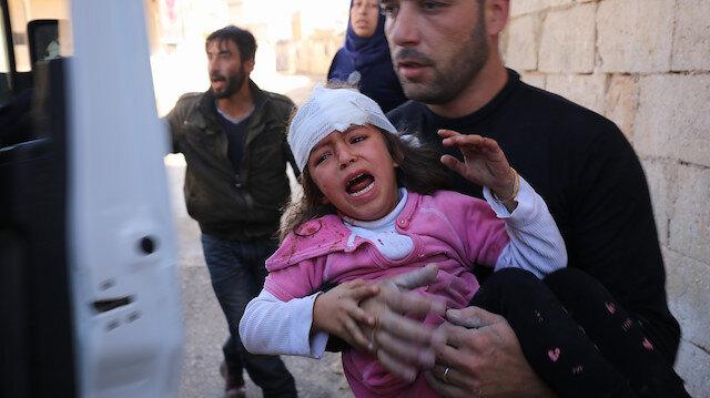 İdlib'e hem havadan hem karadan saldırı: 12 ölü