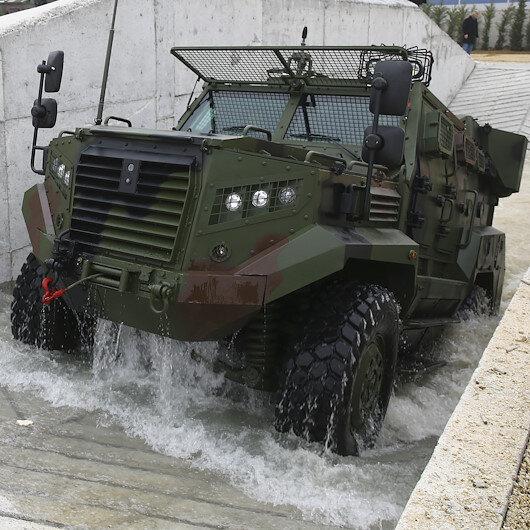 Sınır güvenliğinde kullanılacak Ateş göreve hazır