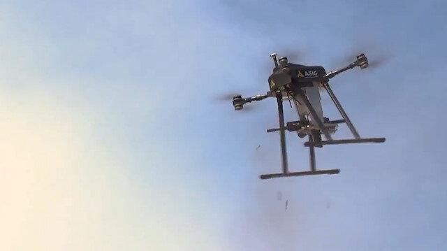Silahlı mini/mikro drone'la geliyor