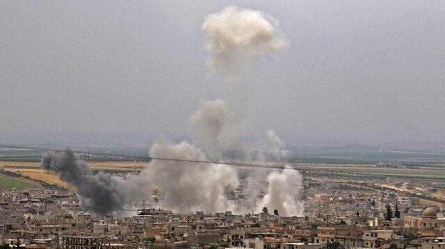 Esed rejiminin İdlib'e hava saldırıları sürüyor: 3 sivil hayatını kaybetti