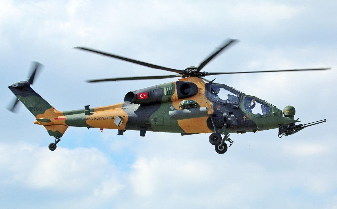 Türk savunma sanayisinin parlayan yıldızlarından ATAK helikopterleri, Zeytin Dalı Harekatı'nda aktif bir şekilde kullanıldı.