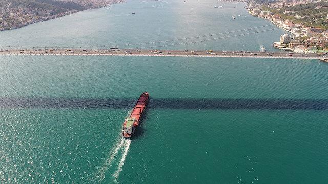 Boğaz'da bir geminin bekleme maliyeti: Günlük 120 bin dolar