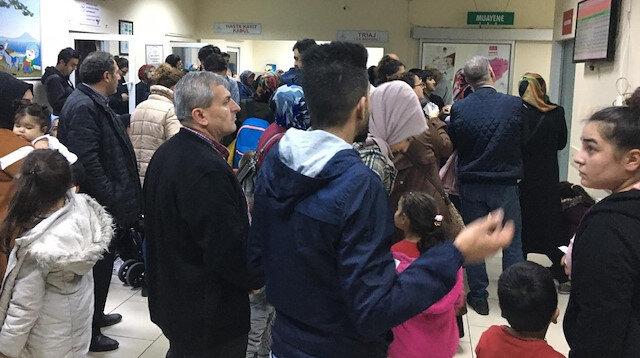 İstanbul'da dün çocuk acil servisleri hava şartları nedeniyle doldu taştı