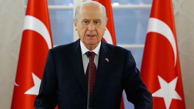 MHP Genel Başkanı Bahçeli: Kanal İstanbul'dan rahatsızlık duyanlar gayri millidir