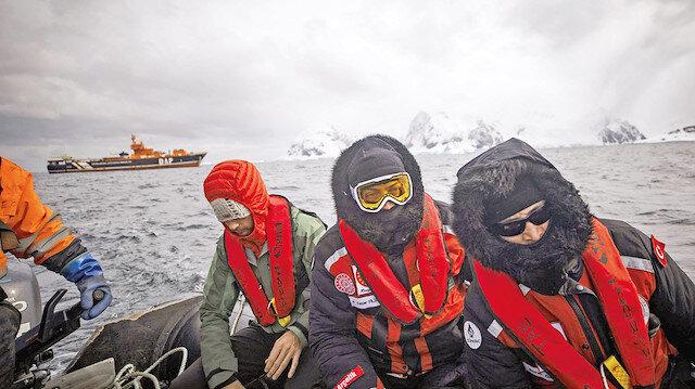 Antarktika'da bilim rekabeti