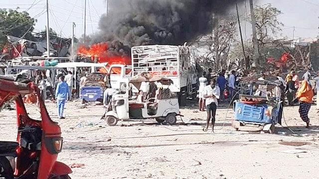 Somali'ye yardım eden hedef oluyor