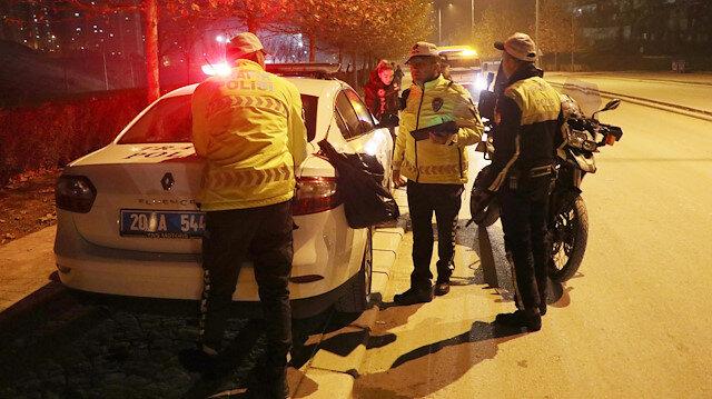 Yılbaşında 16 bin 478 trafik kural ihlaline ceza kesildi