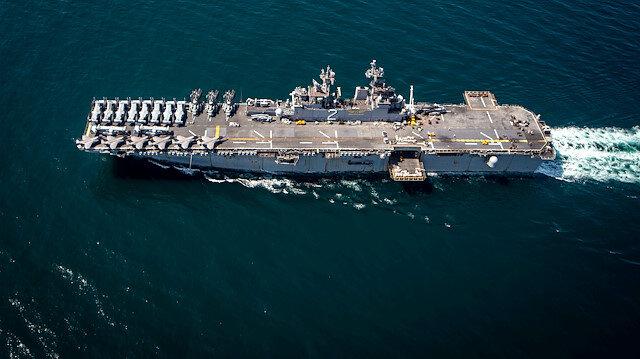 ABD Amfibi gemisi Afrika'da eğitim tatbikatını erteleyip 2 bin askerle Orta Doğu'ya gidiyor
