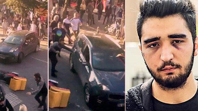 Bakırköy'de kız arkadaşını darp edip vatandaşların üzerine araç süren kişi tahliye oldu