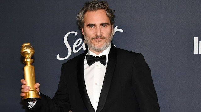 Joaquin Phoenix başarısı taçlandırıldı: Altın Küre Joker'in