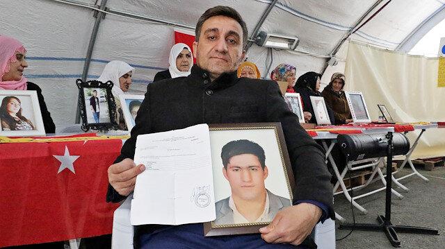 Diyarbakır annelerinin oturma eylemine bir aile daha katıldı: HDP'den kardeşimi istiyorum